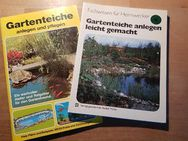 Gartenteiche anlegen und pflegen - 2 Bücher/Hefte - Wedel Zentrum