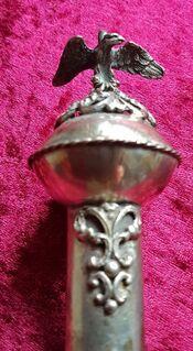 1878 Thorazeiger Yad JAD יד Tora Punze 84 Torafinger Synagoge Silber Rabbiner - Nürnberg