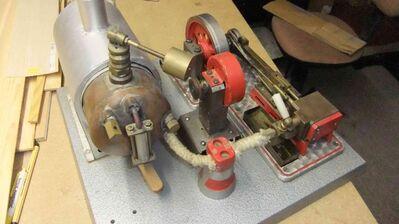 Modell Dampfmaschine - Salem (Baden-Württemberg)