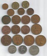 Münzen Großbritannien 1943 bis 2006