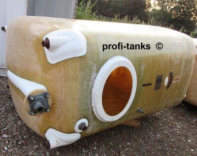 Polyestertank 3.000L GFK-Tank AHL/ ASL-Tank Melassetank Wassertank - Nordhorn