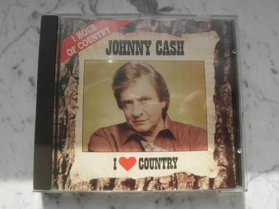 Johnny Cash I love Country Musik CD 1988 EAN 5099746112929 4,50 - Flensburg