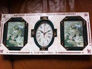 Uhr mit passenden Bilderrahmen - Sarstedt