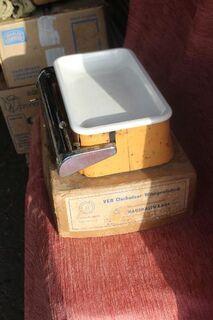 DDR-Küchenwaage Per Uso Famiglia bis 10,5 kg - Bad Belzig Zentrum