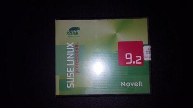Verkaufe Novell Suse Linux 9.2 professional inkl. Linux DVD - Büchenbach