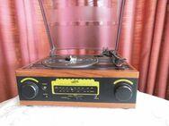 NOSTALGIE Plattenspieler / Turntable Radio ASB Home Classic / Schwartinsky - Zeuthen