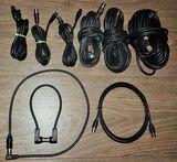 9 x Stück Koaxialkabel 95 dB / 75 Ohm, 3C-2V,Stecker zu Buchse von 30 cm -10 m