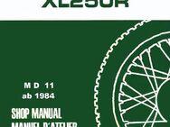 Werkstatthandbuch  Honda XL 250 R (MD 11) von 1984 - Bochum Hordel