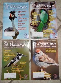 AZ Vogelinfo, Vogelzeitschriften günstig abzugeben. - Duisburg