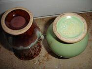 2 kleine Vasen, Keramik, Vintag, ca. 1950er Jahre - Hamburg
