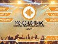Eventtechnik mieten - Licht, Ton, Bühnen, Messe, DJ, Video Equipment - Wismar