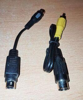 "2 x Stück Adapter SVHS 4 pol. Buchse auf Cinch-Stecker/ Kupplung "" NEU "" - Verden (Aller) Zentrum"