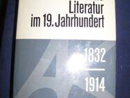 """""""Die deutsche Literatur im 19. Jahrhundert (1832 - 1914)"""" von Ernst Alker, Alfred Kröner Verlag, 1. Auflage, 948 Seiten, stammt aus 1969, ISBN: 352033903X, zum Schutz für weiteren Gebrauch schon eingebunden, sehr guter Zustand, 7,- € - Unterleinleiter"""