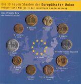 Ersttags-Sonderausgabe Neue EUStaaten 2004 Münzen und Briefmarken