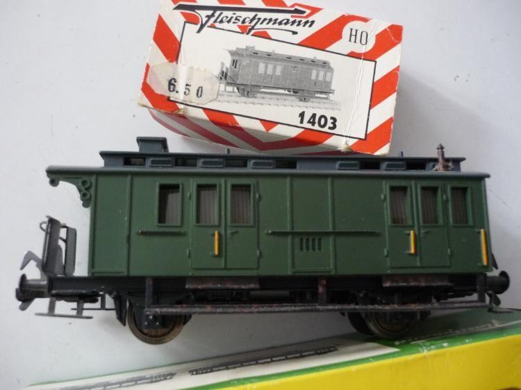 4 Nostalgie Personenwagen HO - Neckarsteinach