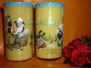 Bautzner KinderSenfglas Sammelglas Shaun das Schaf - Picknick - Görlitz