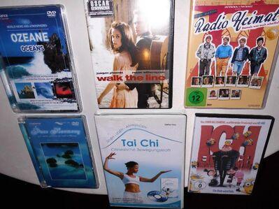 6 x Film/Entspannung DVD, auch einzeln abzugeben ( je 3 Euro) - Herne