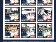 """DEBEX / Die Briefboten:  MiNr. 23 - 31 / KB 1, 01.09.2007, """"Potsdamer Stadtschloss-Aktien"""", Satz (Kleinbogen), postfrisch - Brandenburg (Havel)"""