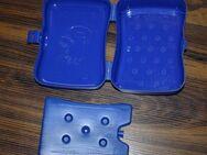Koziol Brotdose Lunchbox Brotbox Frühstück Brotzeit Vesper Proviant mit Kühlakku Eskimo blau NEU - Sonneberg