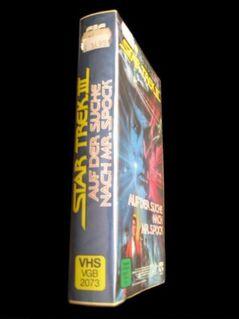 Star Trek 3 - Auf der Suche nach Mr. Spock (seltene VHS-Version) - Niddatal Zentrum