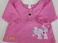 Baby Oberteil Shirt langarm, pink, Größe: 62 - Immenhausen