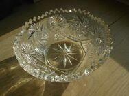 Bleikristall Schale Schüssel 17,5 cm Schleuderstern Zackenrand Vintage Retro 3,- - Flensburg