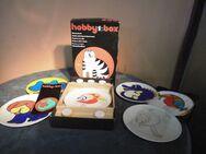 Bastelspiel Hobbybox Blechmalerei um 1985 ehemalige DDR / Dekorationsobjekt - Zeuthen