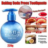 220g Newest Baking Soda Zahnpaste Stain Removal Whitening Zahnpaste Fight Bleeding Gums