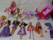 7 Puppen mit Kutsche & mobilem Puppenzimmer - Raesfeld