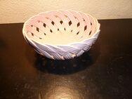 Keramikschüssel geflochten rosa - Frankfurt (Main)