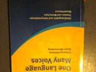 [Inkl. Versand] One Language, Many Voices von Korff, Helga; Ringel-Eichinger, Angela - Stuttgart
