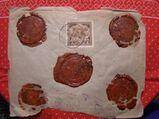 Lettland  Biefumschlag mit Briefmarke,21.10.1924,Mi:LV 97,Lot 365