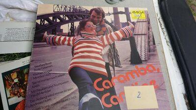 SCHALLPLATTE CARAMBA CAROLINE AMIGA DDR - Berlin Lichtenberg