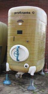 Polyestertank 3.000L GFK-Tank AHL/ ASL-Tank Melassetank Wassertank