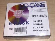 Doppel-CD-Leerhüllen (5er Pack) NEU - Gelsenkirchen