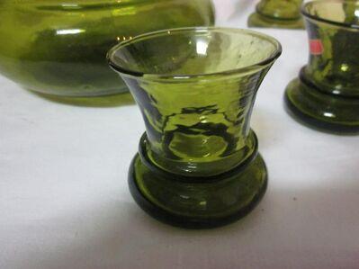 Likörkaraffe mit Gläsern - Herne Holsterhauen