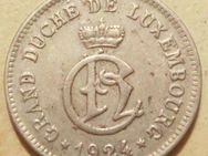 Luxenburg 10 Centimes 1924,Großherzogin Charlotte