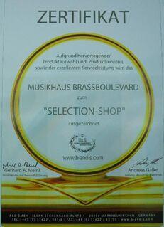 B & S MS27-L Sarastro Meistersinger Bass - Posaune. Neuware - Hagenburg
