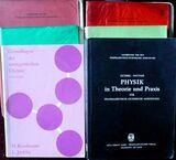 Konvolut von 6 Fachbüchern für PTA`s