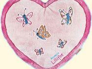 Flauschiges Prinzessin Lillifee-Herzkissen mit Geheimfach - ein schönes Deko für jedes Prinzessinnen Bett - Neuenkirchen (Nordrhein-Westfalen)