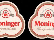 Moninger Bierdeckel BD Bierfilz Brauerei - Nürnberg