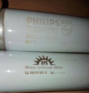 2 Stück Professional Solariumröhren 65 W / 150 cm Länge - Verden (Aller)