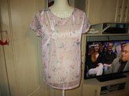 neu,t-shirt,glitzer,rose,blümchen.janina.grösse 38 - Pforzheim