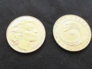 Medaillen Jetons Mildred Scheel Krebshilfe Bundespräsident - Bottrop