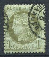Frankreich 1 Centime,Napoleon III.,1871-73,Mi.FR 45 ,Lot 1265