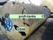 GS08 gebrauchter 13.000 L Stahltank Erdtank Löschwassertank unterirdisch Wassertank Zisterne Lagerbehälter Dieseltank Heizöltank doppelwandig DIN6608