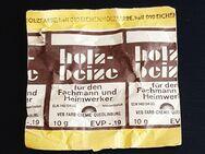 original Holz-Beitze - VEB Farb-Chemie-Quedlinburg DDR - Nürnberg