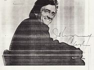 JOHNNY CASH  DIN A4 AUTOGRAMM - Herten