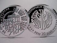 25 Euro-Münze 25 Jahre Deutsche Einheit Prägestätte J - Osnabrück