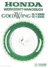 Honda GL 12000 DE / AE Goldwing Werkstatthandbuch